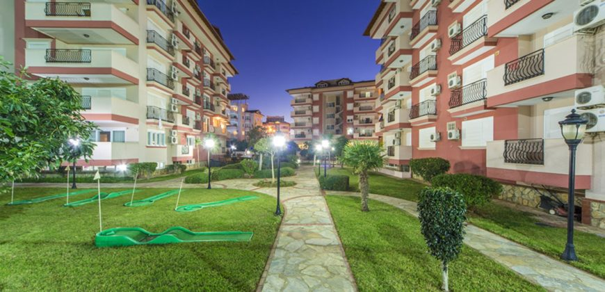 Spacious Two Bedroom Furnished Flat for Rent in Oba Alanya