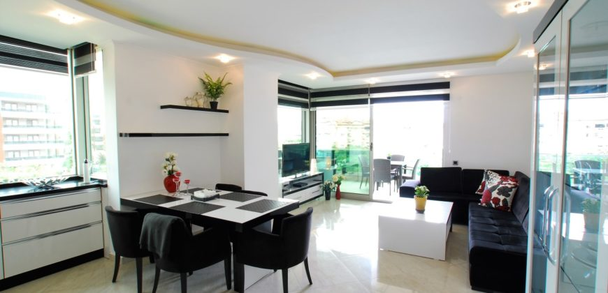 Oba Life Garden – Luxury Holiday Apartment for Rent in Oba Alanya