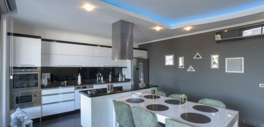 Renda Park – Stylish Penthouse for Rent at the Seaside in Oba Alanya 32