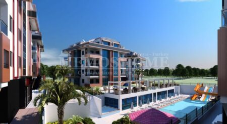 Affordable Housing with Impressive Infrastructure in Oba Alanya