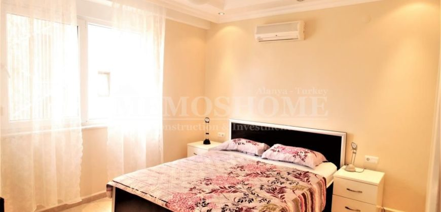 Resale River View Apartment Near the Sea in Oba Alanya