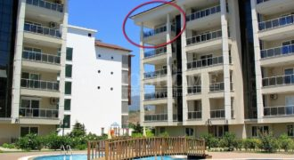 Resale Apartment with a Partial Seaview in Kestel Alanya