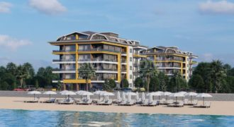 Beachfront Apartments with Private Pools in Kestel Alanya