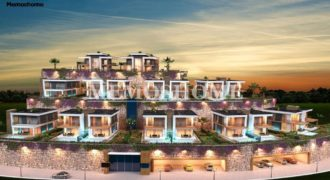 Luxury Seafront Villa Park in Alanya, Private Villas for Sale