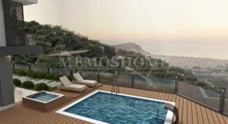 Luxury Seaview Villas for Sale in Alanya, with Private Pools