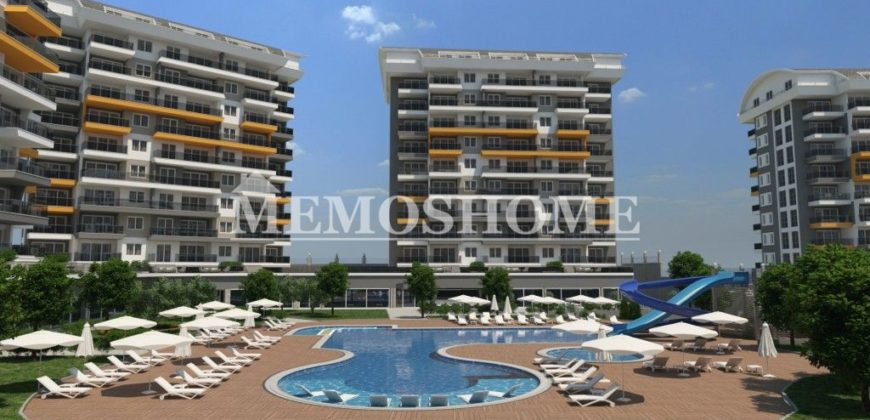 Penthouses in Alanya with Hotel Concept and Multiple Facilities