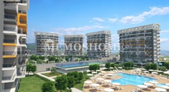 Properties in Alanya with Hotel Concept and Multiple Facilities