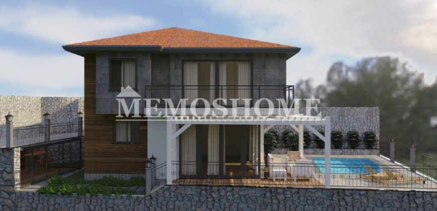 Natural Design and Modern Style, Seaview Villa for Sale in Alanya