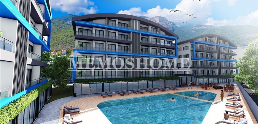 Cheap Properties for Sale in Oba Alanya, with Rich Infrastructure