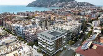Apartments with Amenities in Alanya City Centre, En Vie Beach Area