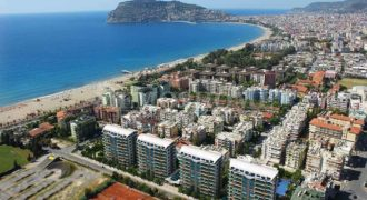 Luxury Properties for Sale in Alanya by the Sandy Beach