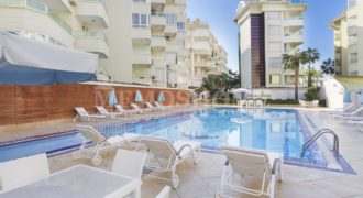 Begonia – First Sea Line Apartment for Sale in Oba Alanya