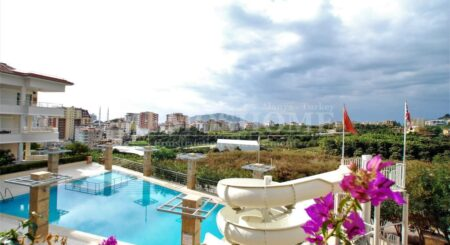 Two-Story Apartment for Sale in Alanya, Overlooking the Nature