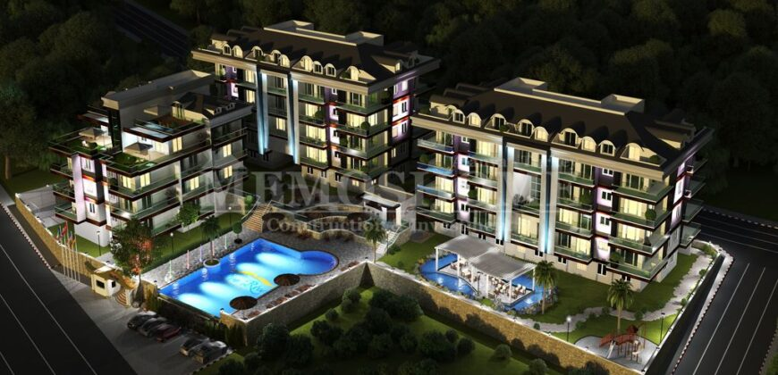 Residences in Alanya in the Dim Valley Surroundings