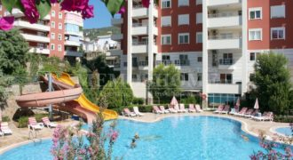 Resale Duplex Apartment with Amenities in Cikcilli Alanya