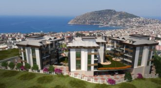 Luxury Seaview Residences for Sale in Oba Alanya