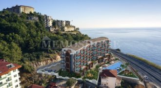 Apartments on the First Sea Line in Kargicak Alanya