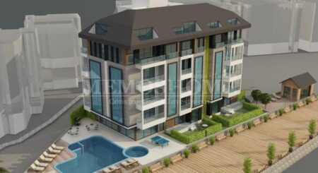 Boutique Style Apartments with a Swimming Pool in Alanya City