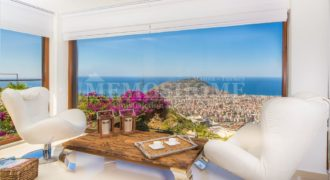 Exclusive Infinity Seaview Villa for Sale in Alanya