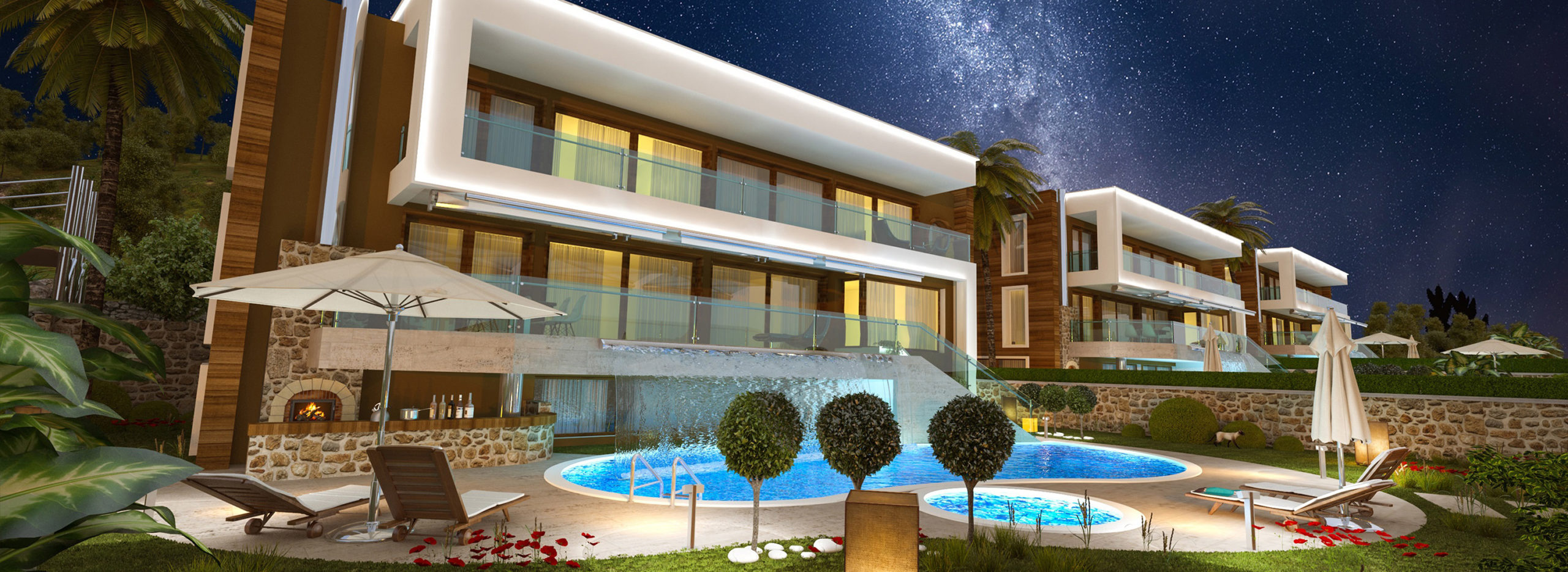 Exclusive Seaview Villas in Alanya, with Private Pools