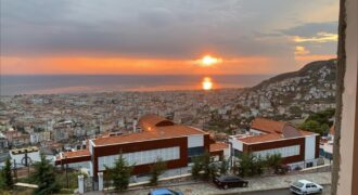 Panoramic Terrace Duplex Apartments for Sale in Alanya
