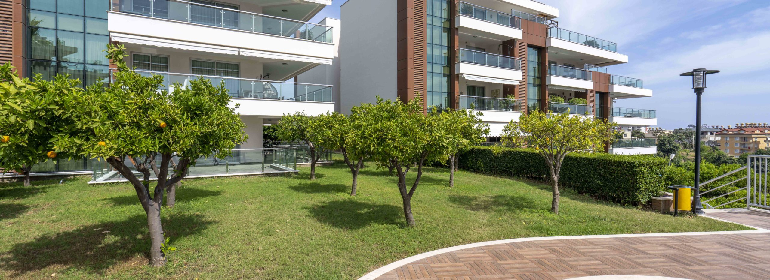 Apartment with Large Terraces for Sale in Cikcilli Alanya