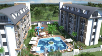 Modern Apartment Complex with Amenities in Oba Alanya