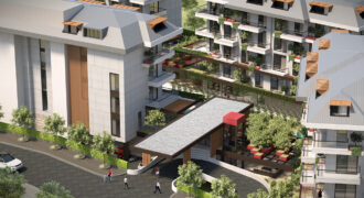 Apartments with Large Private Gardens in Oba Alanya