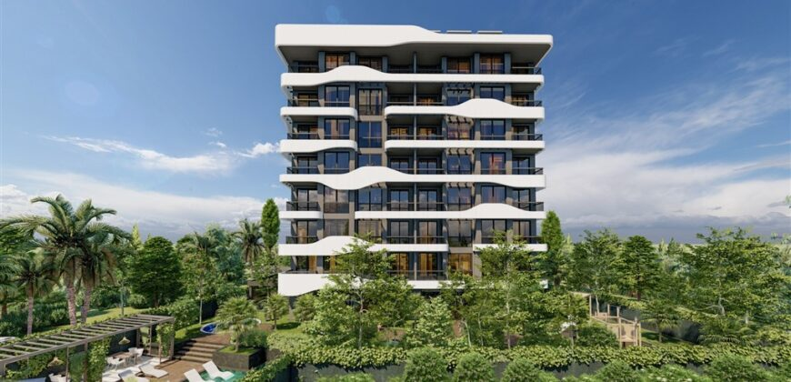 New Project Close to Incekum Forest Camp in Avsallar