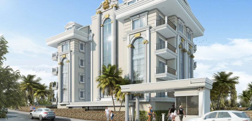 New Modern Housing in Alanya on the Turkish Riviera