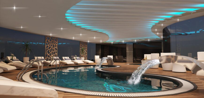 New Residential Project in Oba with a Large Pool Area