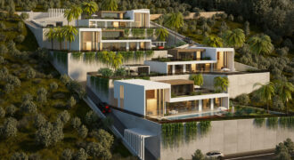 Top Quality Exclusive Infinity Villas for Sale in Alanya