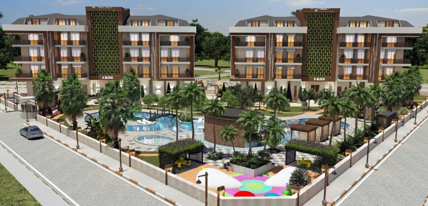 Properties with Good Rentability for Sale in Oba Alanya
