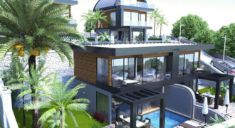 Stylish Seaview Villas on the Hillside of Bektas Alanya