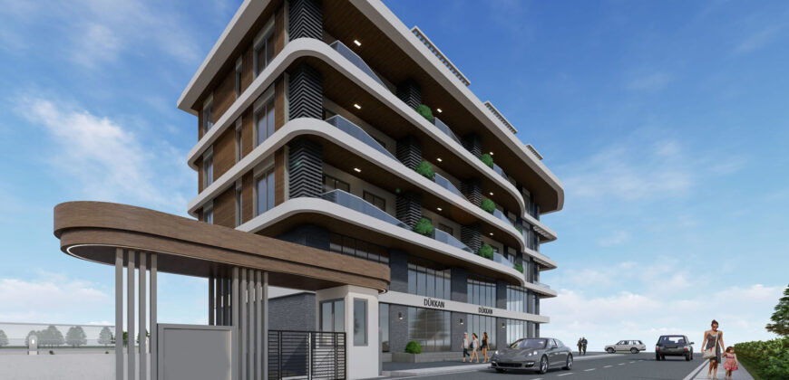 Seaview Investment Penthouses for Sale in Kestel Alanya