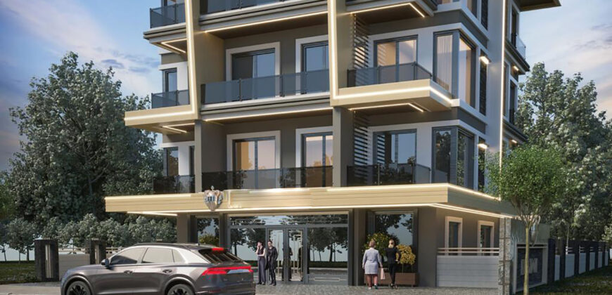New Housing in a Cozy Apartment House in Oba Alanya