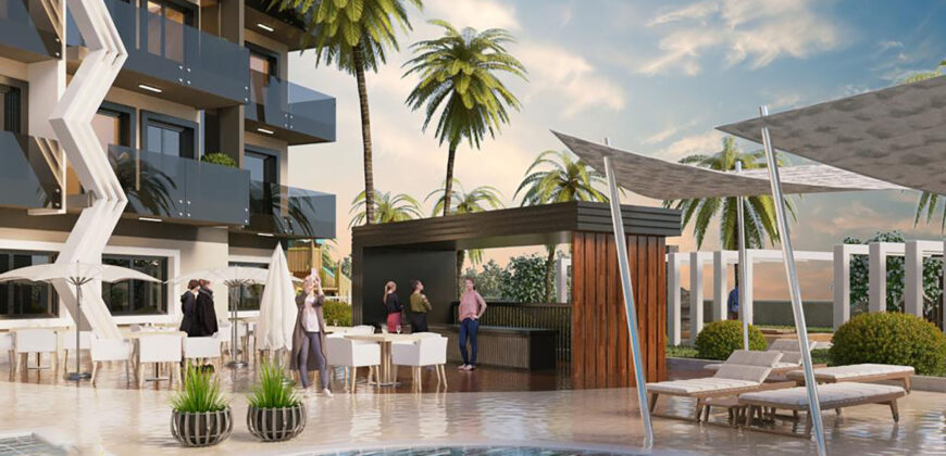 Seaview Residential Project with Hotel Comfort in Avsallar