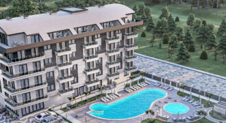 Modern Good Price Apartments for Sale in Oba Alanya