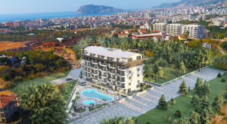 Modern Good Price Duplexes for Sale in Oba Alanya