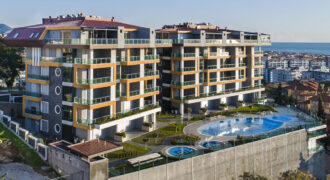 Kestel Armani – Luxury Amazing Seaview Apartment for Rent in Alanya