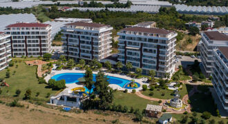 Cheap Apartments in Demirtas Alanya, in Quiet Natural Area