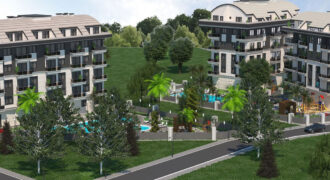 Best Price Flats in Oba Alanya with Modern Infrastructure