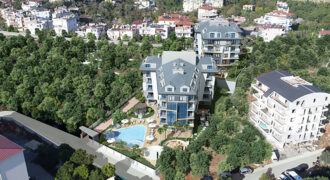 New Holiday Homes in Oba Alanya, at Bargain Prices
