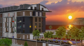 Luxury Beachfront Apartments for Sale in Oba Alanya