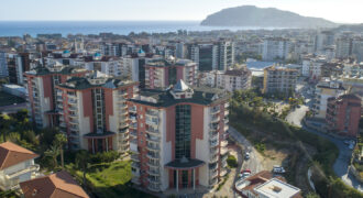 Ready to Move Penthouse in Cikcilli with Alanya Panorama