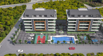 Affordable Roof Duplexes for Sale in Oba Alanya