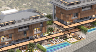 Deluxe Apartments Overlooking Alanya City for Sale