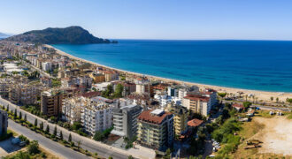 Castle View Penthouses Next to Cleopatra Beach Alanya