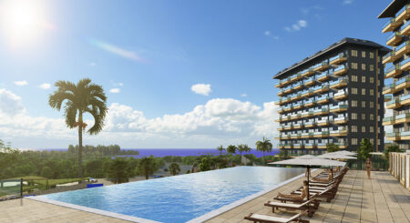 Peaceful Apartments with Seaview in Avsallar