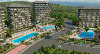 Magnificent Seaview Penthouses for Sale Avsallar